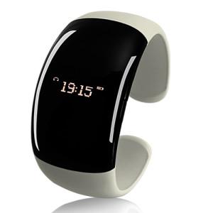 Белый Bluetooth-браслет