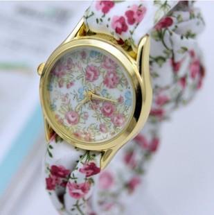 2013-Western-fashion-color-decorative-pattern-sweet-chiffon-girls-women-watches-High-quality-watch-wholesale-free