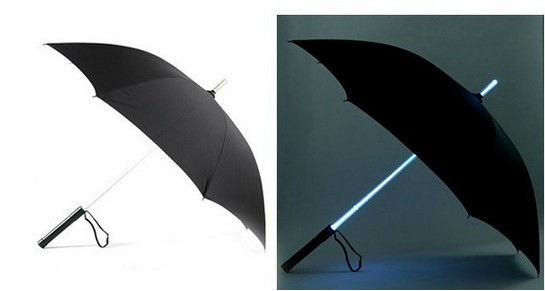 Креативный зонт со светящейся ручкой