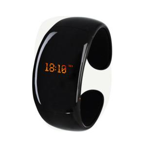 Черный Bluetooth-браслет